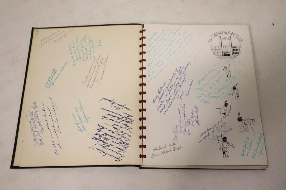 Lot 109: Five 1938/1939 school graduation books
