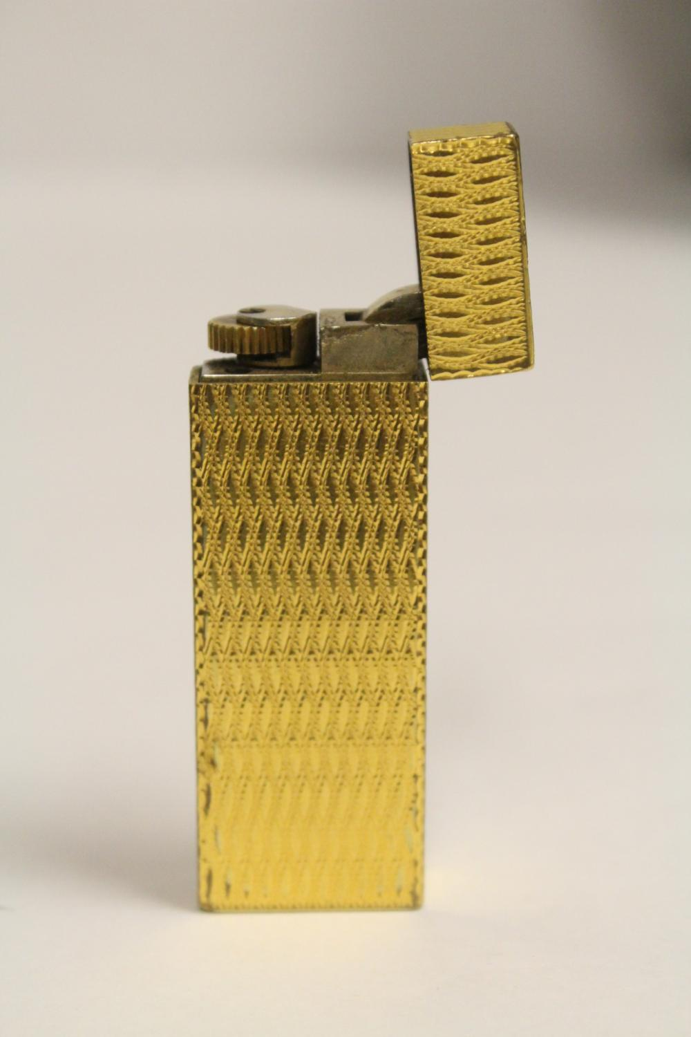 A Cartier lighter