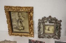 Lot 112: Lot of picture frames, some vintage