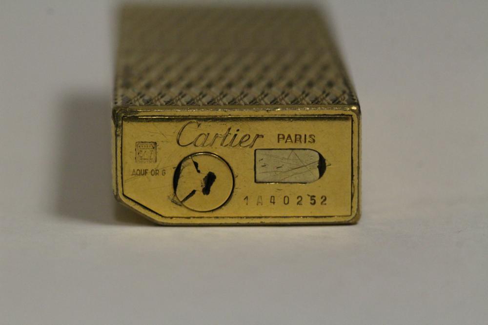 Lot 219: A Cartier lighter
