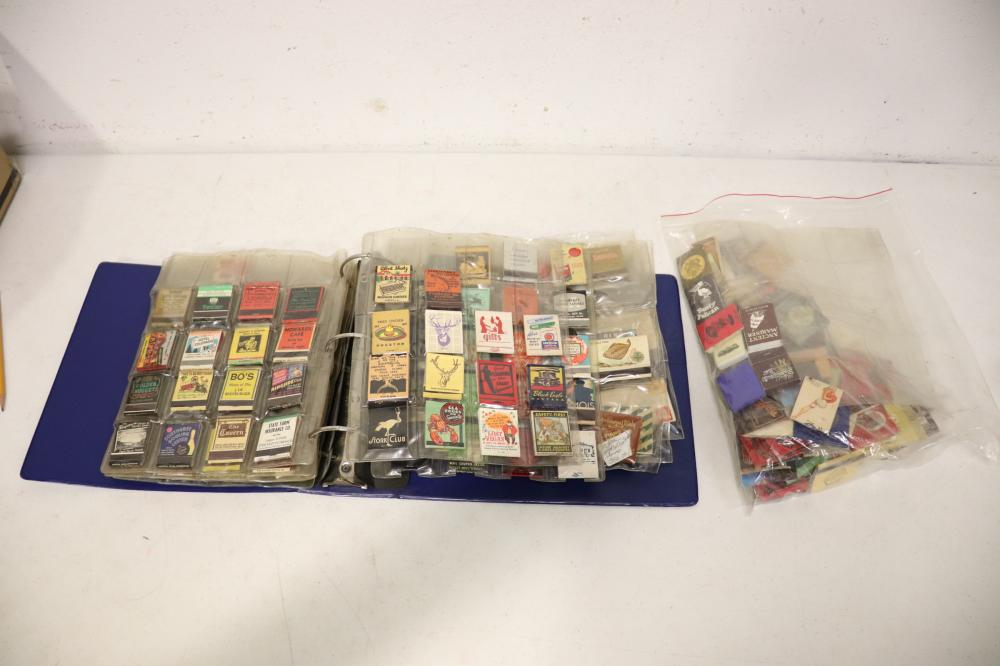 Lg lot of playboy & vintage advertising matches