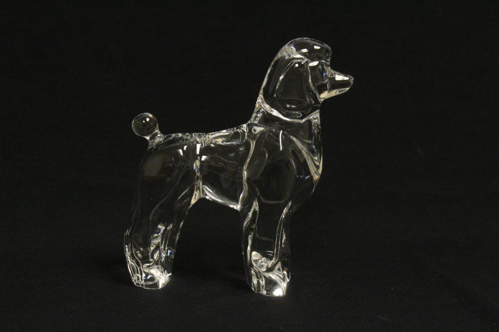 Baccarat poodle