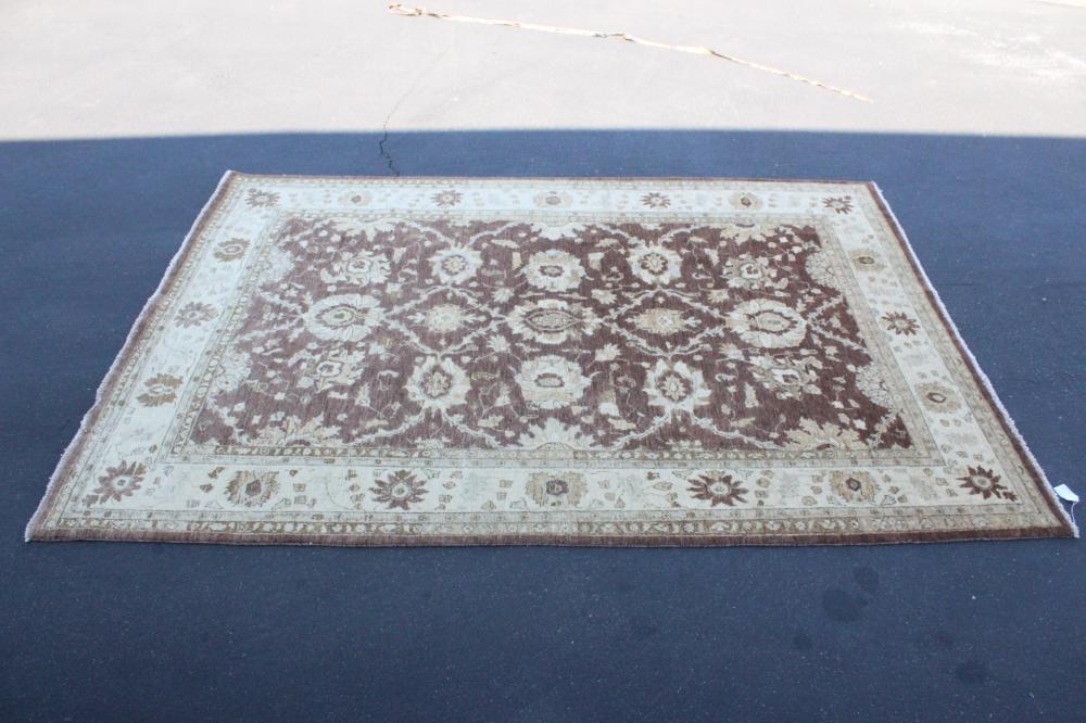 A fine handmade 100%wool room size rug
