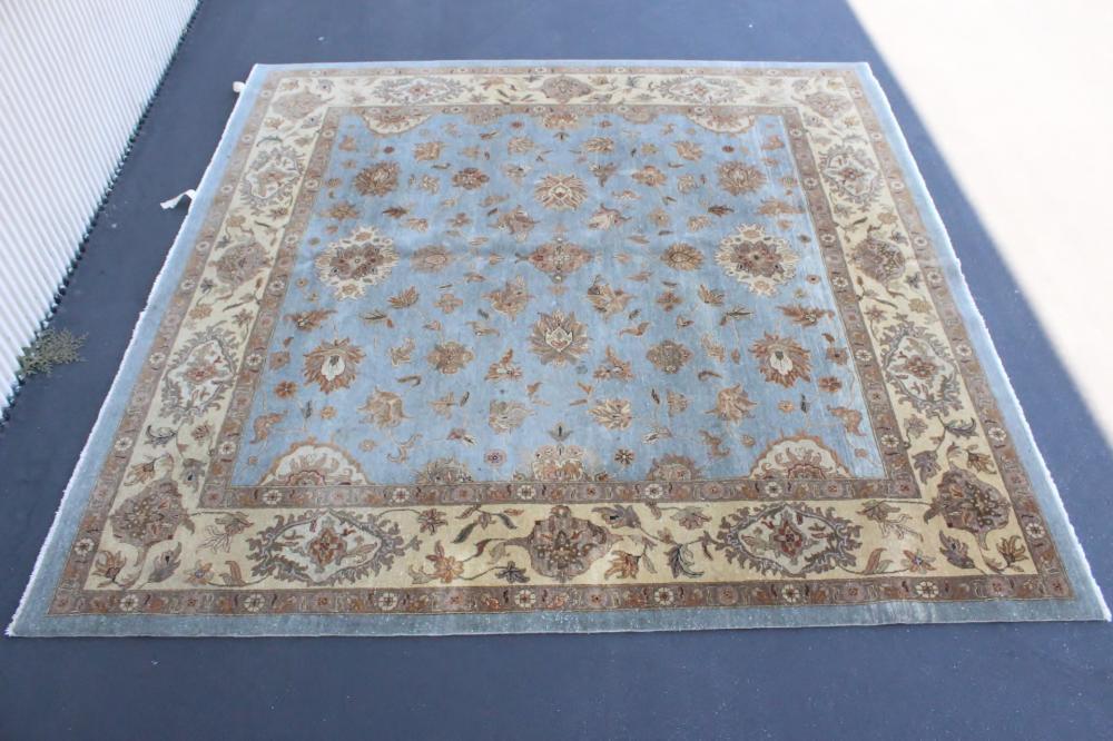 Palace size handmade thick wool rug
