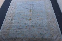 Lot 161: A palace size vintage handmade Persian rug
