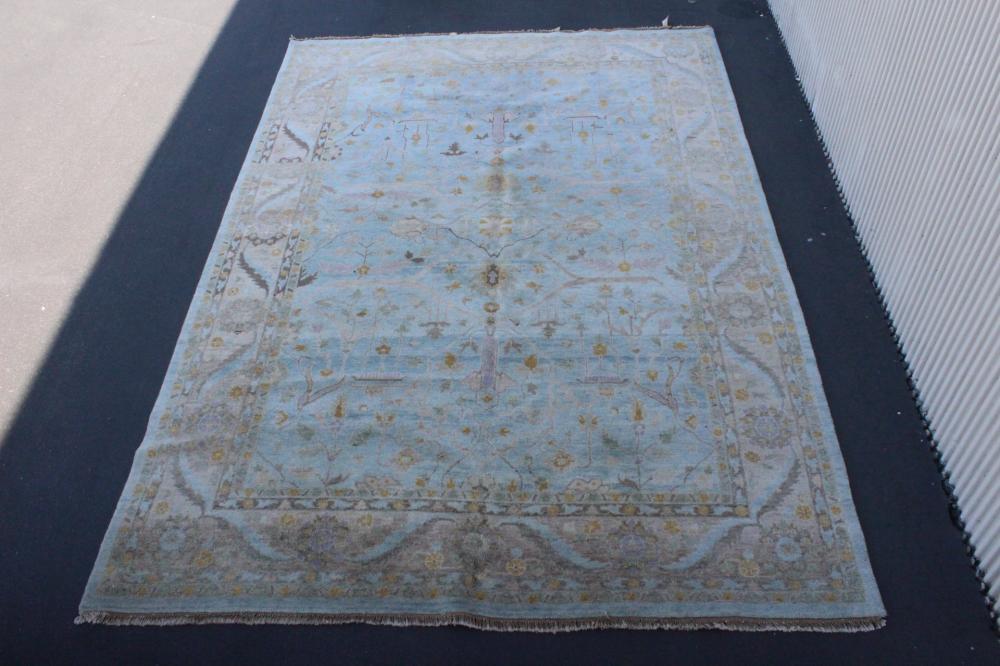 A palace size vintage handmade Persian rug