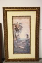 Lot 178: 2 large framed prints