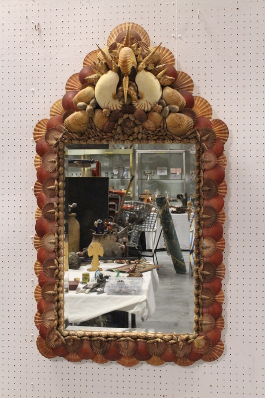 Very unusual modern wall mirror