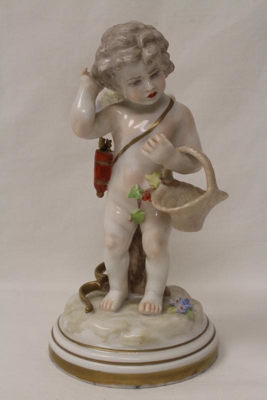 19th century capodimonte figurine