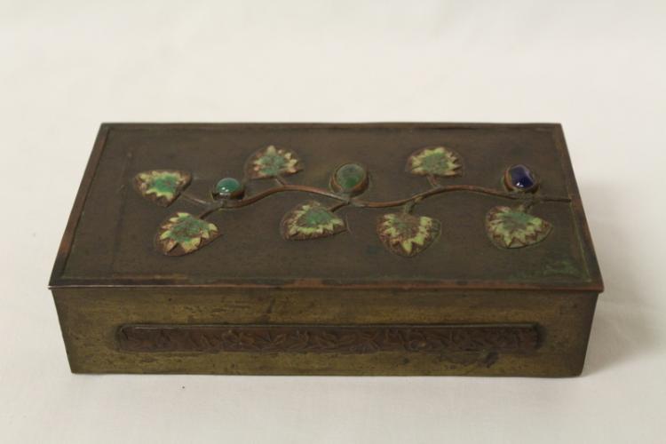 A  bronze/copper box