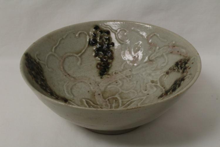 Korean antique celadon porcelain plate