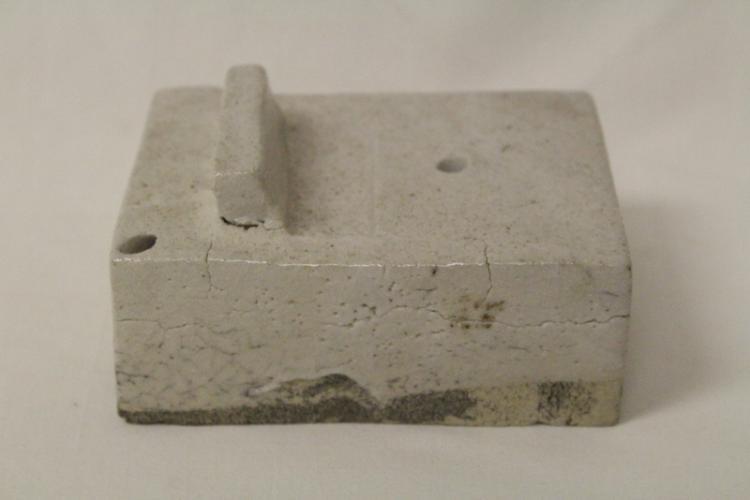 Korean antique white porcelain water dripper/ink stone