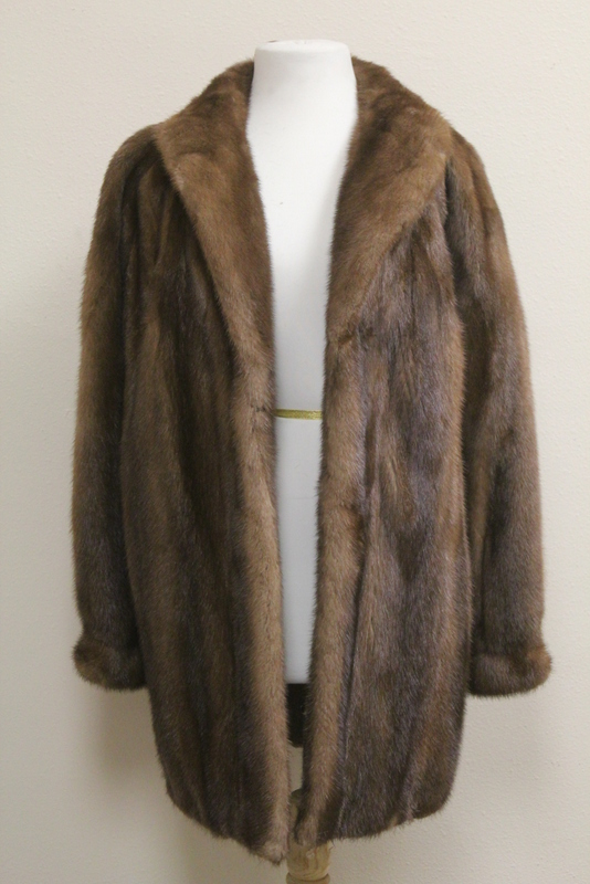 Vintage three quarter mink coat
