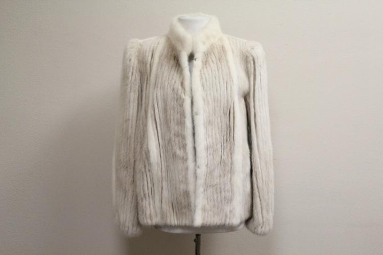 Fine lady's half length mink coat