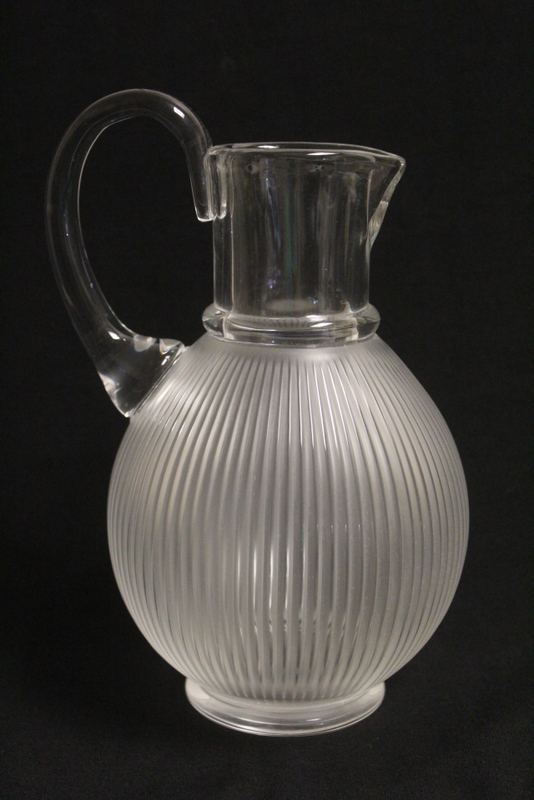 Lalique crystal decanter