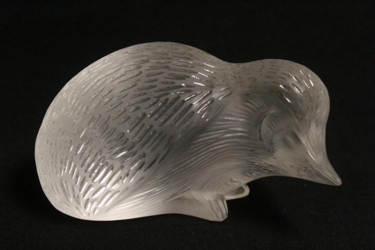 Lalique crystal pheasant