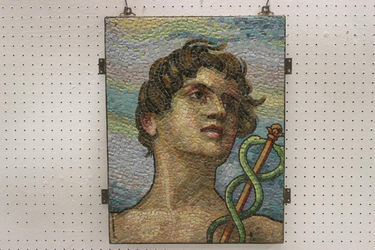 Important 18th/19th c. Italian mosaic panel