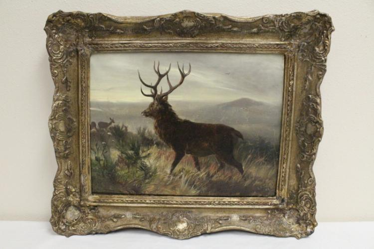 Oil on canvas, signed Arthur Fitzwilliam Tait