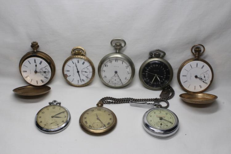 8 pocket watches