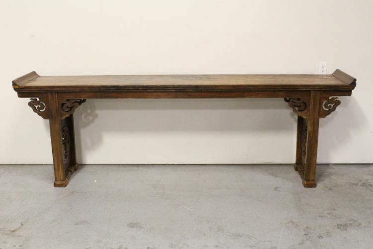 Large Chinese antique altar table