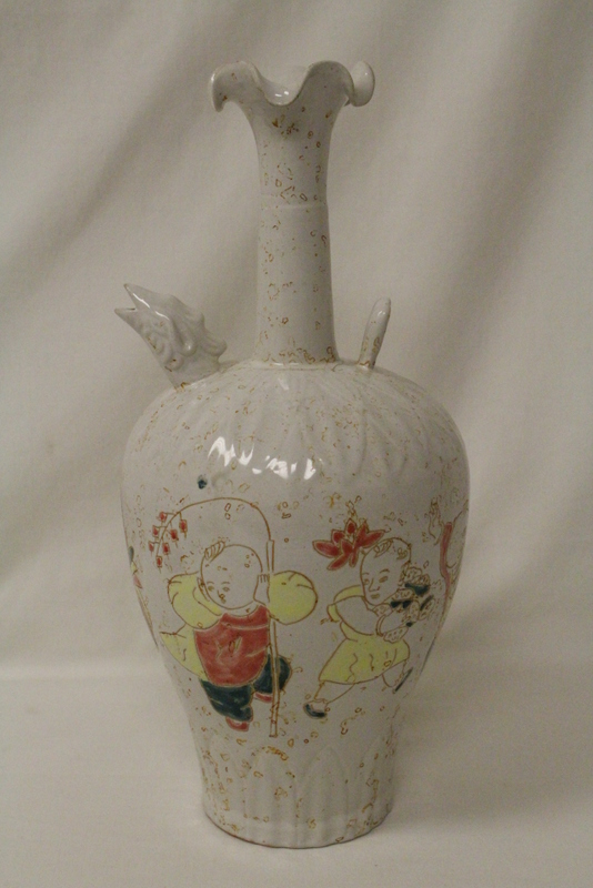 Rare Song style porcelain wine ewer