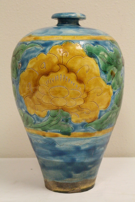 Chinese vintage porcelain meiping