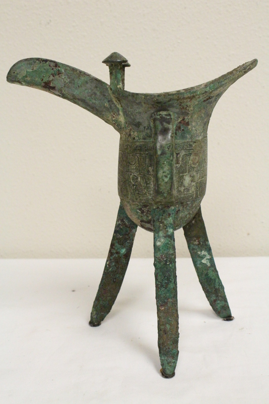 Chinese archaic style bronze jue