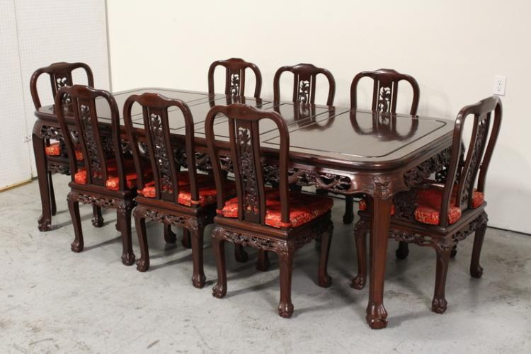 Chinese rosewood dining set