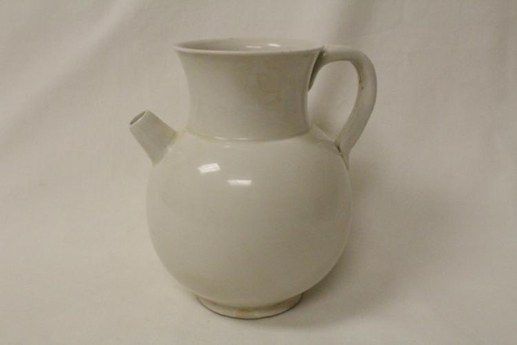 Chinese white porcelain wine server