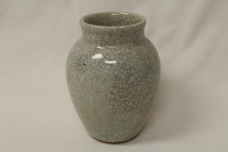 Chinese vintage crackle ware vase