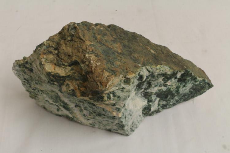A natural stone boulder