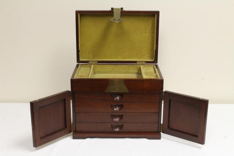 Chinese rosewood dressing box