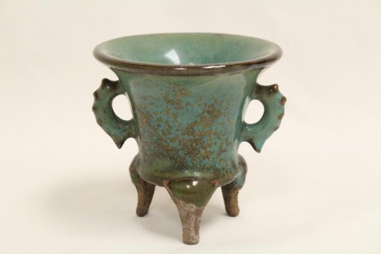 Chinese Song style footed wine cup