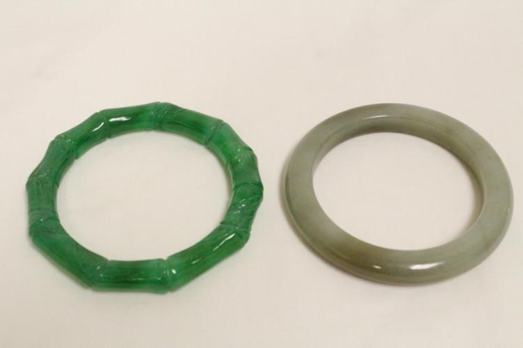 2 Chinese bangle bracelets