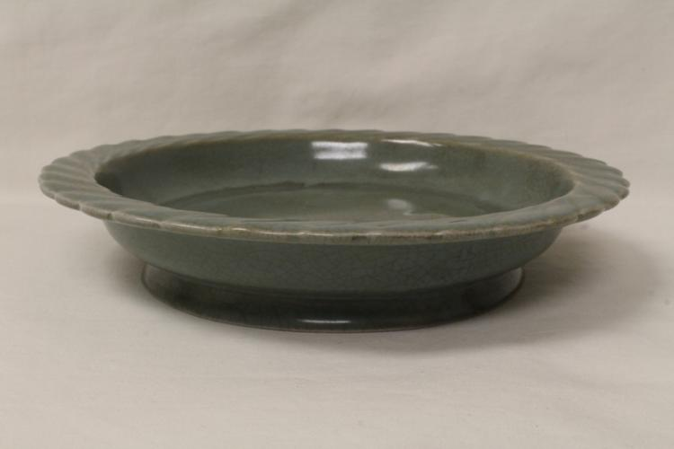 Song style celadon small plate