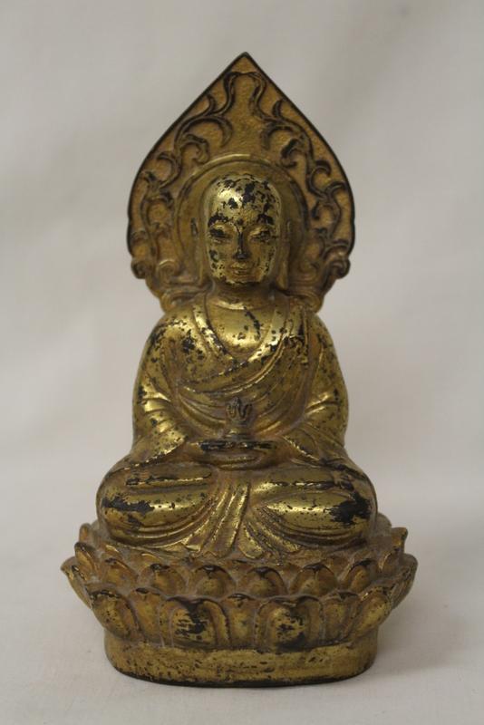 Gilt bronze Buddha