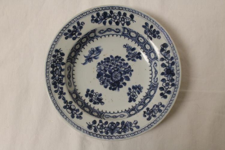 18th/19th century Korean Blue and white porcelain plate