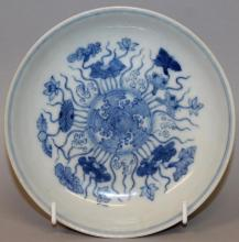 Blue-White Porcelain Saucer