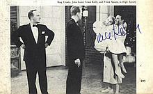KELLY & GRANT: Grace Kelly (1929-1982) American Actress, Academy Award winn