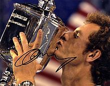 AUTOGRAPHS: TENNIS: Selection of signed 8 x 10
