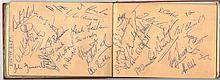 AUTOGRAPHS: RUGBY LEAGUE: An autograph album
