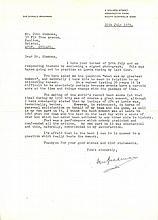 AUTOGRAPHS: BRADMAN DON: (1908-2001) Australian