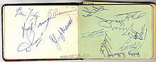 AUTOGRAPHS: AUTOGRAPH ALBUM: An autograph album