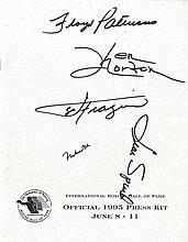 AUTOGRAPHS: BOXING: A printed 4to brochure, being
