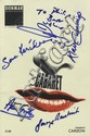 THEATRE: Selection of signed theatre programmes by