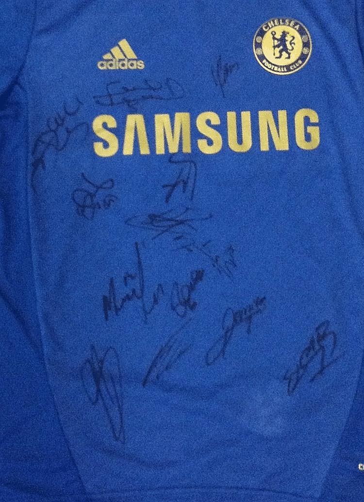 CHELSEA F.C.: A blue official souvenir Chelsea FC