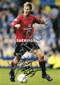 MANCHESTER UNITED: Selection of signed 8 x 10