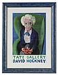 HOCKNEY DAVID: (1937- ) British Artist. Signed