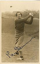TENNIS: Selection of signed postcard photographs