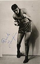 BOXING: Selection of vintage signed postcard